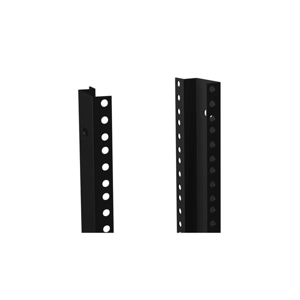 Round Hole Punched Combination Mounting Rail RCHR Series