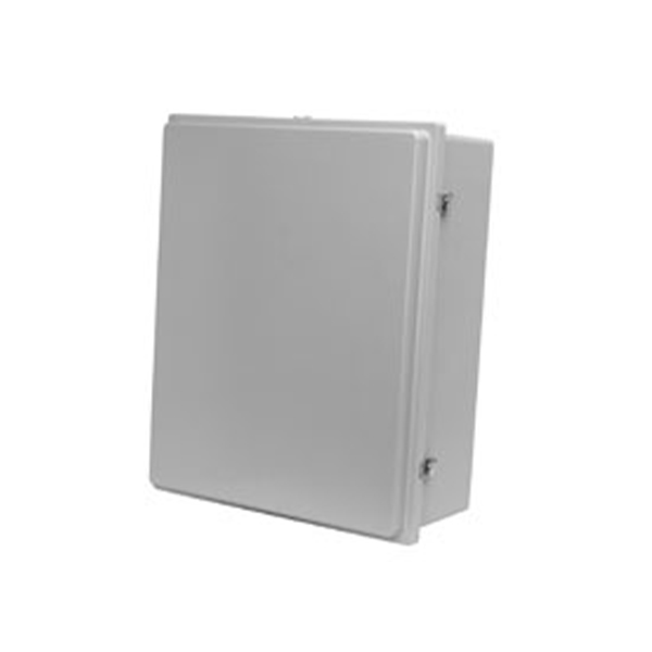 Type 4X Polyester Junction Box w/ Raised Lid (Solid and Window) PJ Series Continuous Hinge Door with Twist Latches