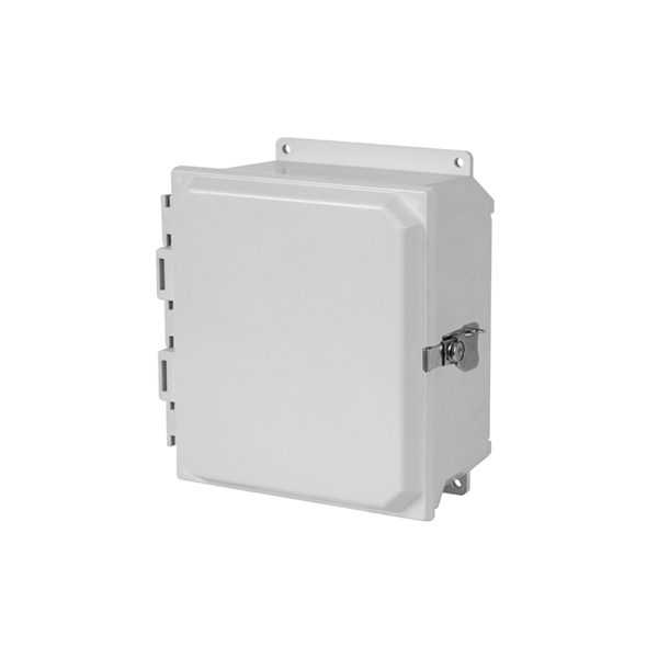 Type 4X Polycarbonate Junction Box (Solid and Clear Cover) PCJ Series Hinged Screw Cover