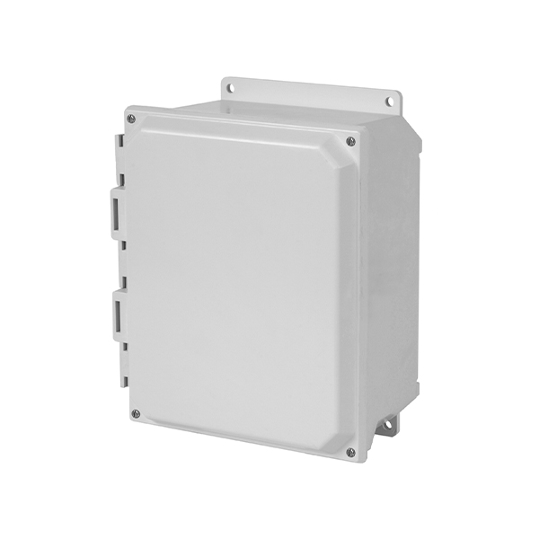 Type 4X Polycarbonate Junction Box (Solid and Clear Cover) PCJ Series Metal Latch Cover