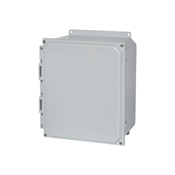 Type 4X Polycarbonate Junction Box (Solid and Clear Cover)  Screw Cover PCJ Series