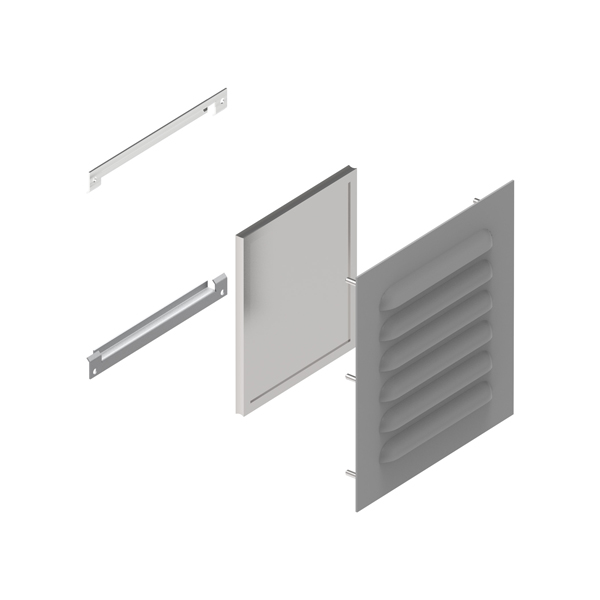 Type 3R Louvered Vent Kits 1481L3R Series