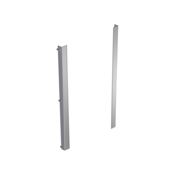 Freestanding Enclosure Panel Rails 1418FS and HN4FS Series Enclosures