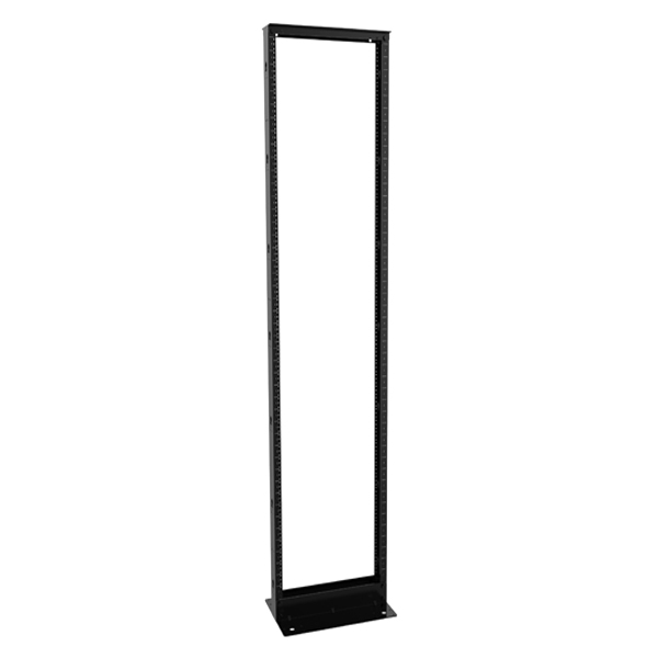 Knockdown 2-Post Aluminum Contractor Rack RB-2PA Series