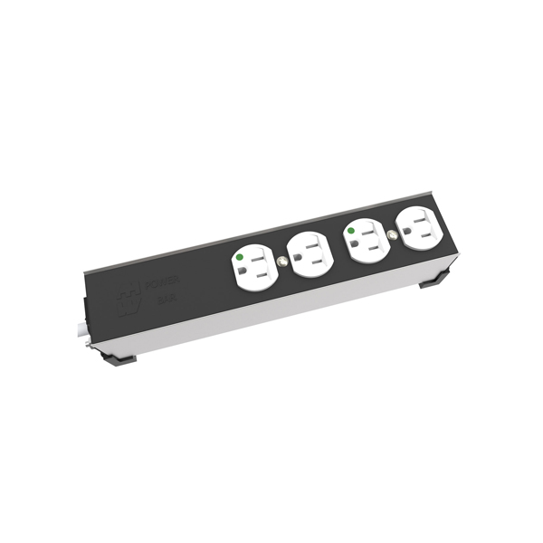 15 Amp Heavy Duty Hospital-Grade Outlet Strip 1584H Series