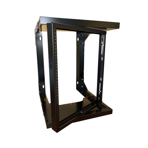 Adjustable Depth Center Swing Wall Rack HWMR Series