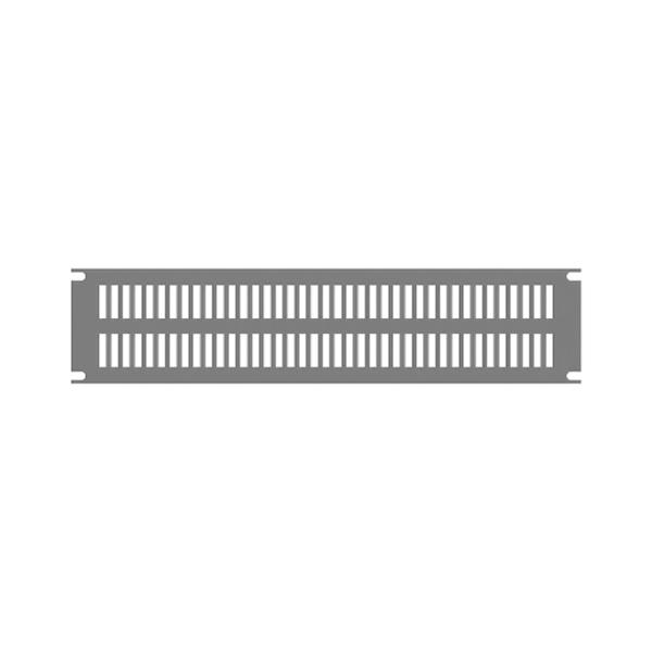 Slotted Aluminum Rack Panel PVSA Series