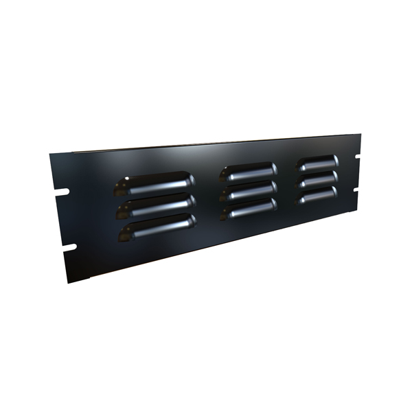 Louvered Steel Rack Panels PVLL Series