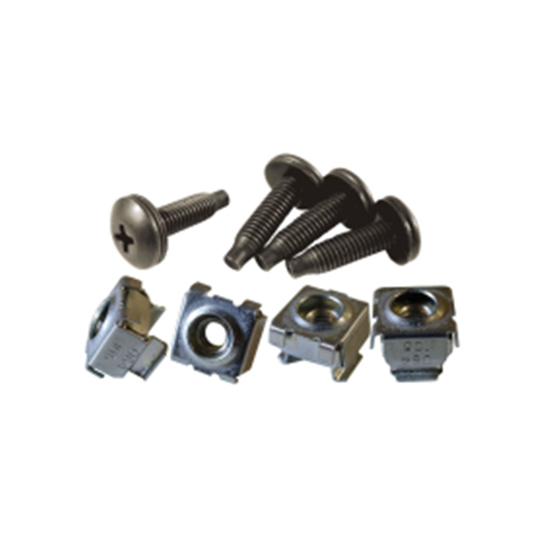 10-32 Mounting Hardware Screws, Cage Nuts, Clip Nuts and Combo Kits