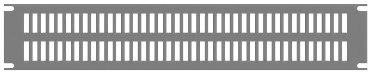 Slotted Steel Rack Panel PVSS Series