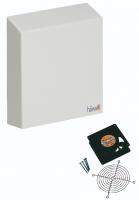 "Nema 3R Filter Fans - 12"" x 11"" - 24 Vdc, 7.4 Watts - Unimpeded Flow 105 cfm With Filter Pad  (Part Number 3140-9500-10-03) 50 cfm"