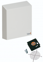 "Nema 3R Filter Fans - 12"" x 11"" - 230 Vac, 29 Watts - Unimpeded Flow 194 cfm With Filter Pad  (Part Number 3140-9500-10-03) 84 cfm"
