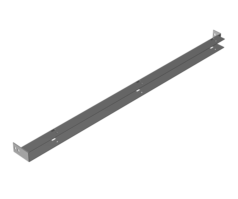 Freestanding Enclosure Center Panel Supports 1418FS and HN4FS Series Enclosures