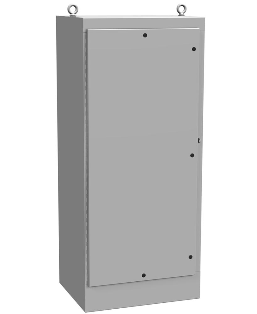 Type 4 Mild Steel Freestanding Enclosure 1418 N4 FS QT Series