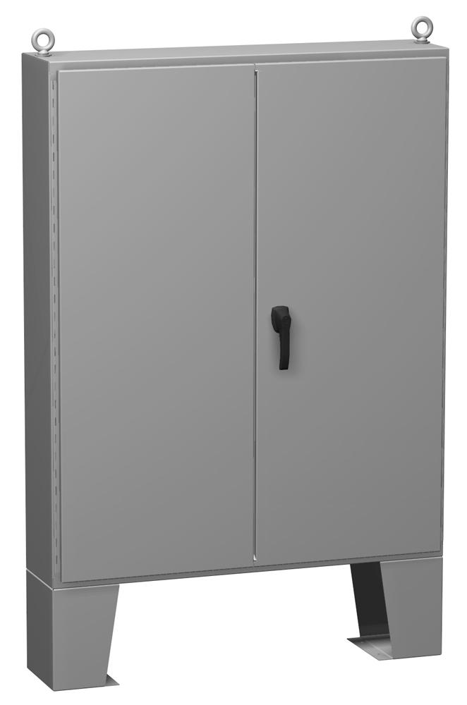 Type 12 Mild Steel Two Door Floormount Enclosure 1422 FM Series