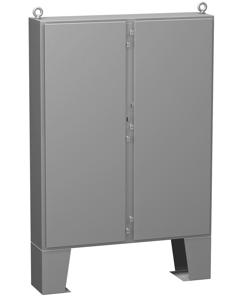 Type 4 Mild Steel Two Door Floormount Enclosure 1422 N4 FM Series
