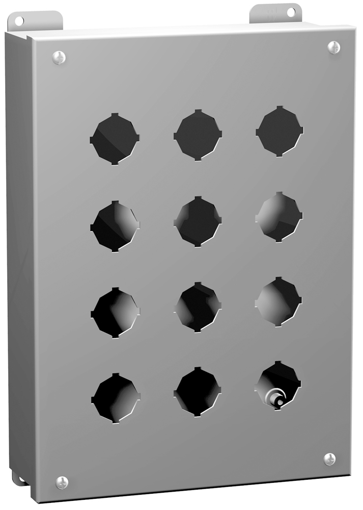Type 12 Mild Steel Pushbutton Enclosures 1435 Series