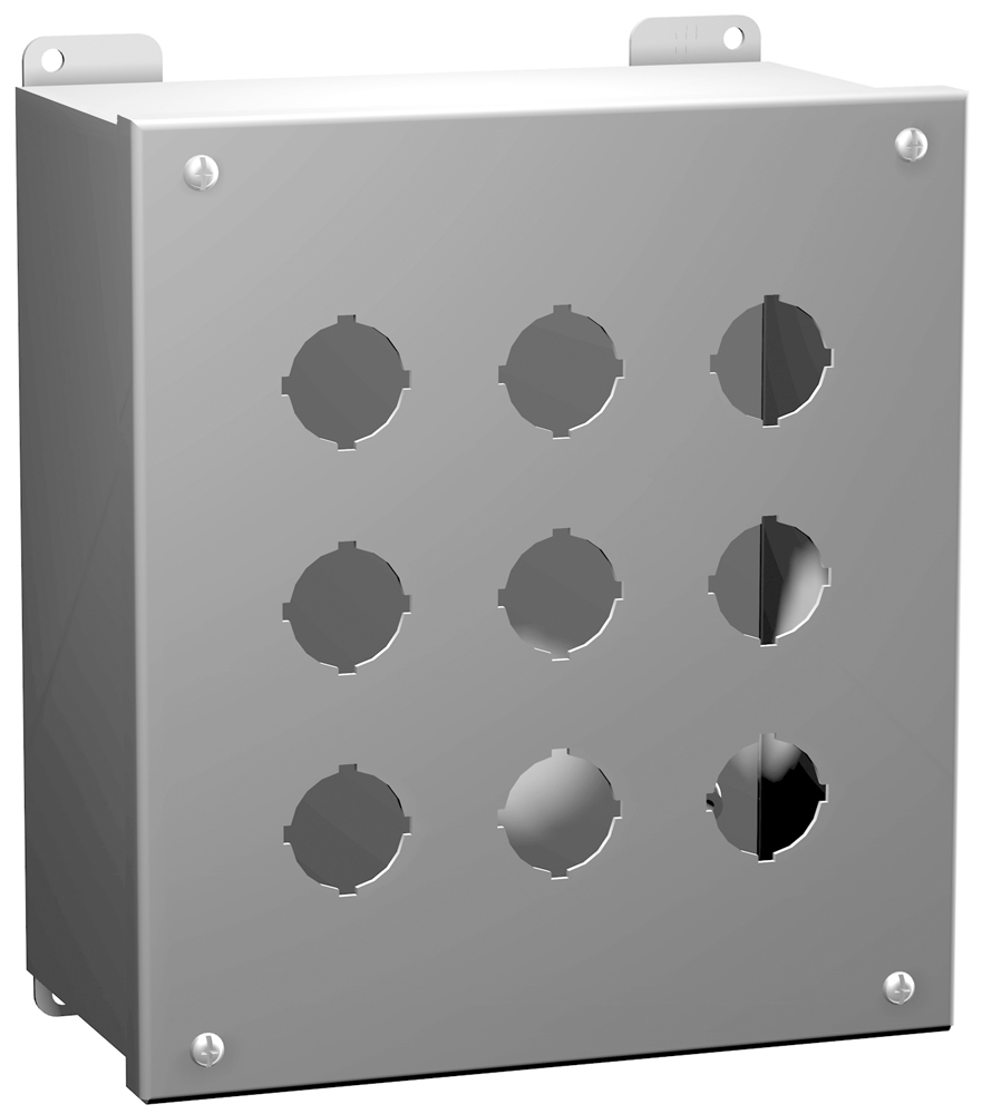 Type 12 Mild Steel Pushbutton Enclosures 1437 Series