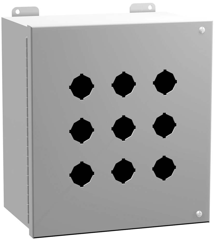 Type 12 Mild Steel Pushbutton Enclosures 1489 Series