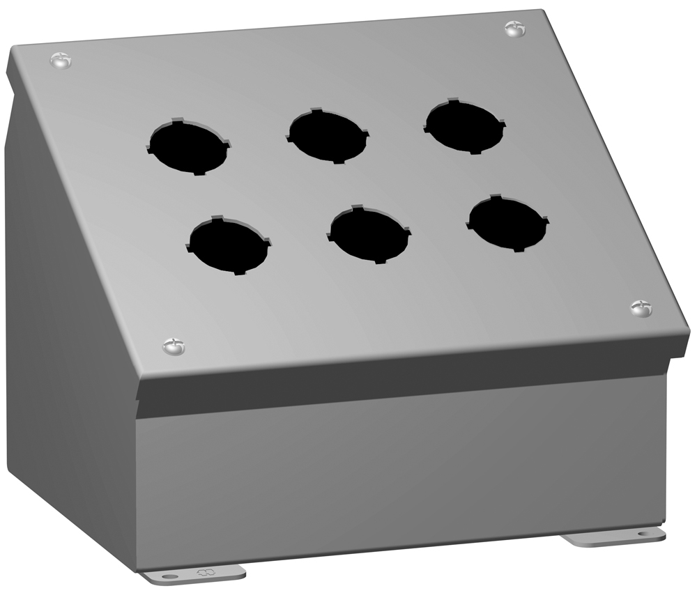Type 12 Mild Steel Pushbutton Enclosures 1490 Series