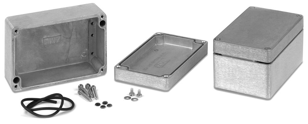Type 4X/ 6P Diecast Aluminum Enclosures 1590Z Series