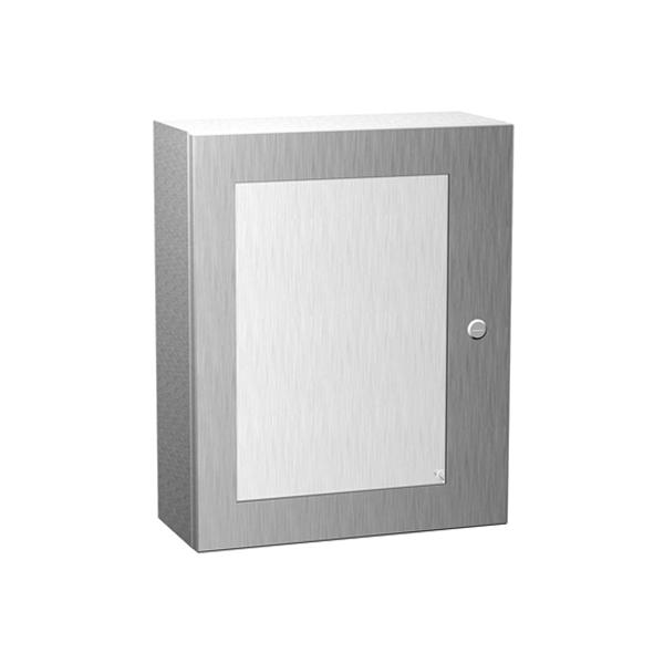 Type 4X Stainless Steel Wallmount Enclosure w/ Window Eclipse Series