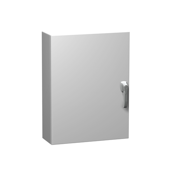Type 4X Painted White Stainless Steel Wallmount Enclosure Eclipse Series