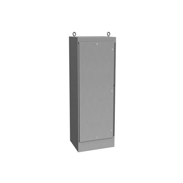 Type 4X Stainless Steel Freestanding Enclosure 1418 N4 FS QT SS Series