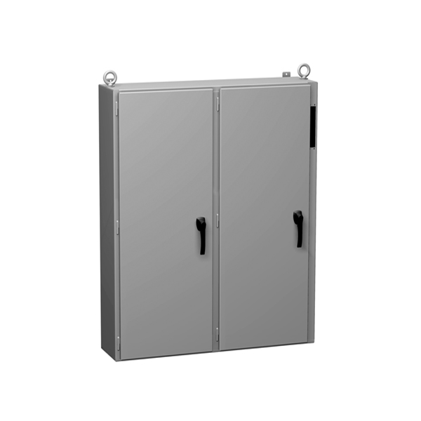 Type 12 Mild Steel Two Door Wallmount Disconnect Enclosure 2UD Series
