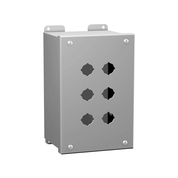 Type 12 Mild Steel Miniature Pushbutton Enclosures MPB Series