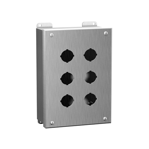 Type 4, 4X Stainless Steel Pushbutton Enclosures 1435SS Series