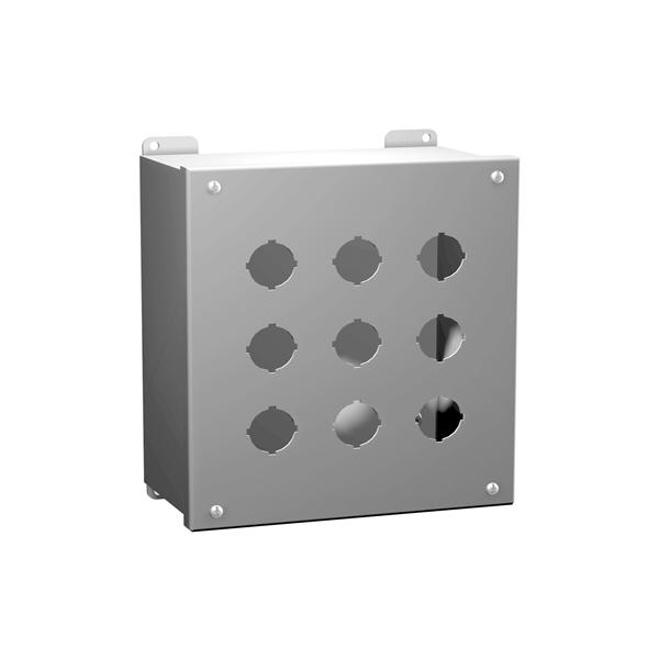 Type 12 Mild Steel Pushbutton Enclosures 1437 Series