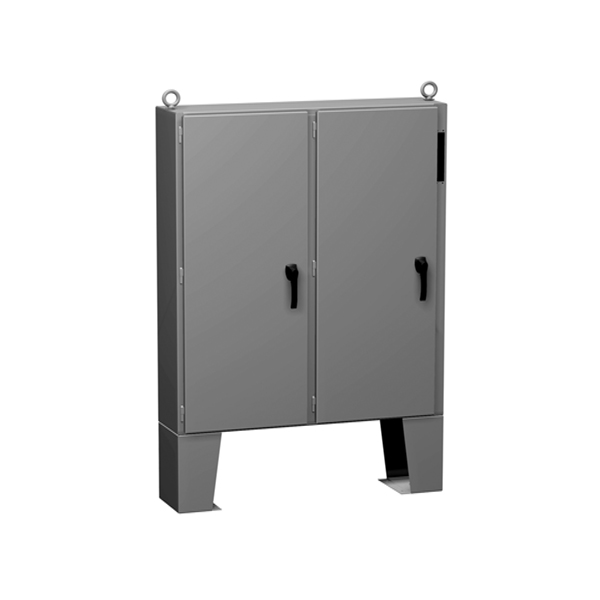 Type 12 Mild Steel Two Door Floormount Disconnect Enclosure 2UD F Series