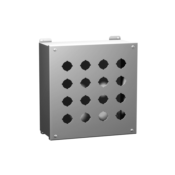 Type 4, 4X Stainless Steel Pushbutton Enclosures 1437SS Series
