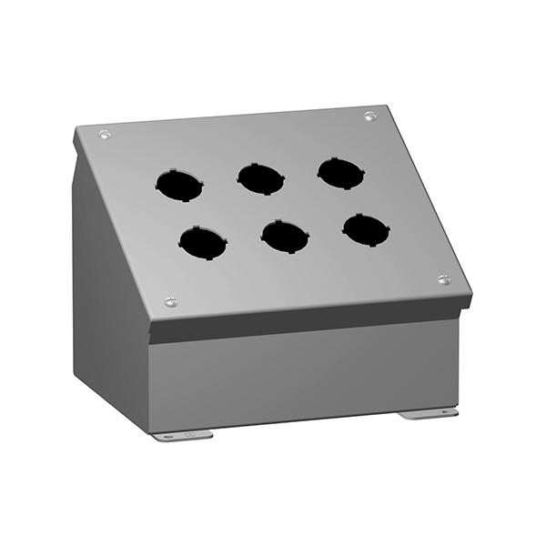 Type 12 Mild Steel Pushbutton Enclosures 1490 Series