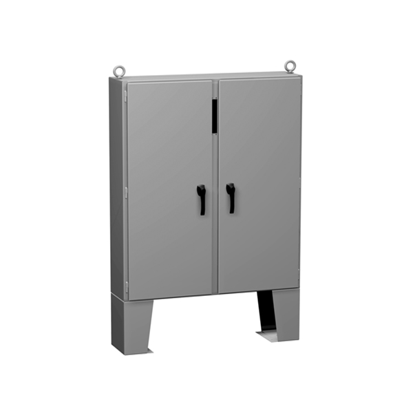 Type 12 Mild Steel Two Door Floormount Disconnect Enclosure 2UD CP F Series