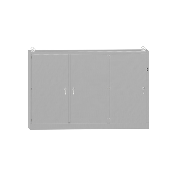 Type 4X Stainless Steel Multi-Door Freestanding Disconnect Enclosure UHD SS Series