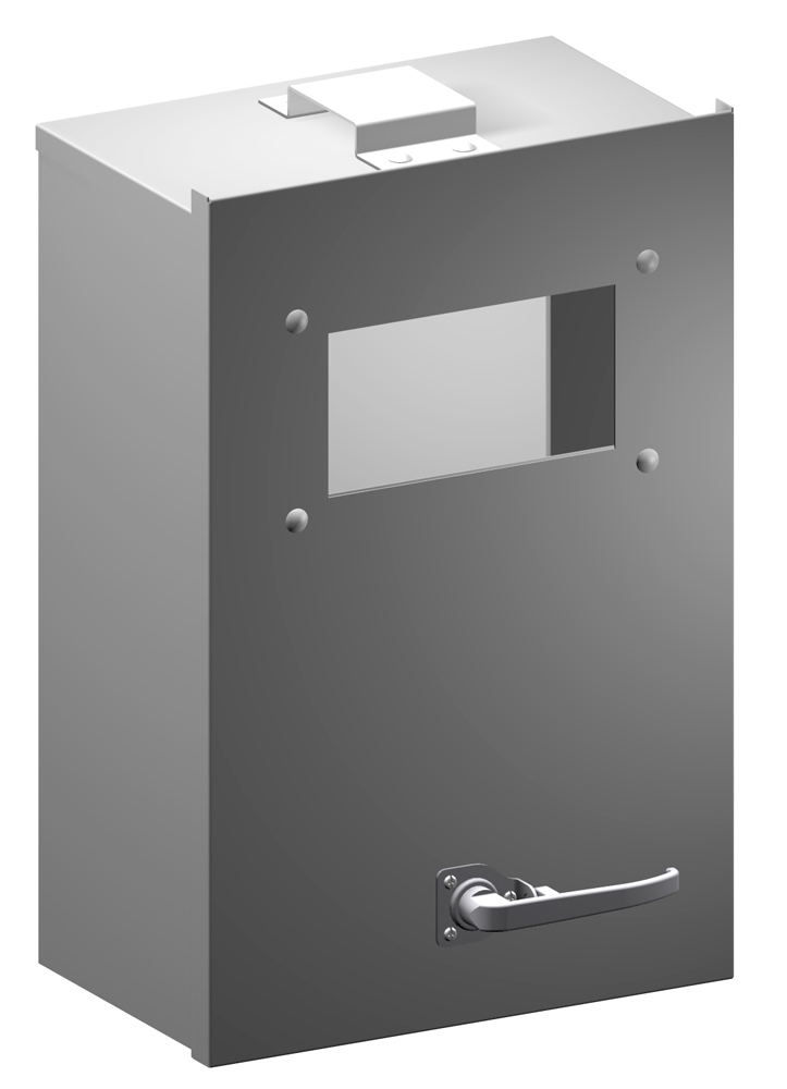 Type 1 Mild Steel Metering Cabinets (Ontario Hydro Version) CMC O Series