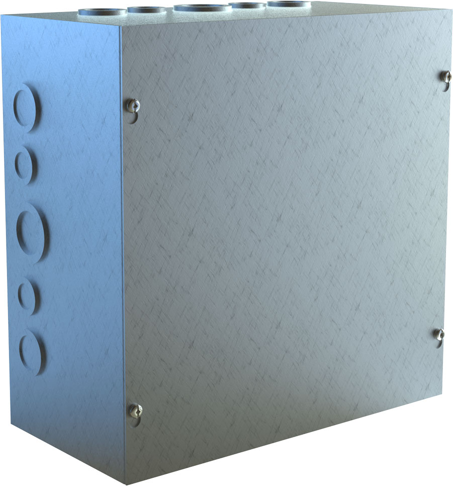 Type 1 Unpainted Galvanized Steel Junction Box CSKOG Series
