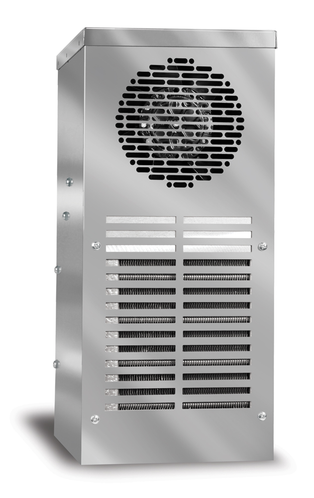 900-1200 BTU/H Outdoor Air Conditioner DTS Series Type 3R, 4, 4X, Side Mounting
