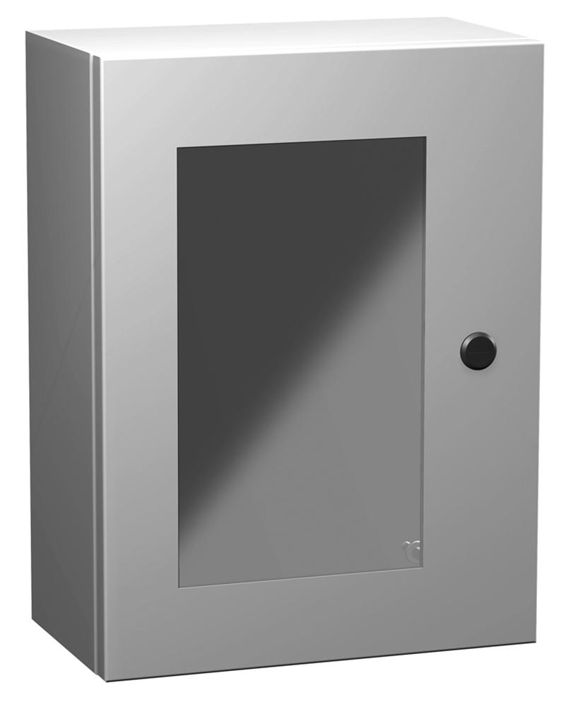 Type 4 Mild Steel Wallmount Enclosure w/ Window Eclipse Series