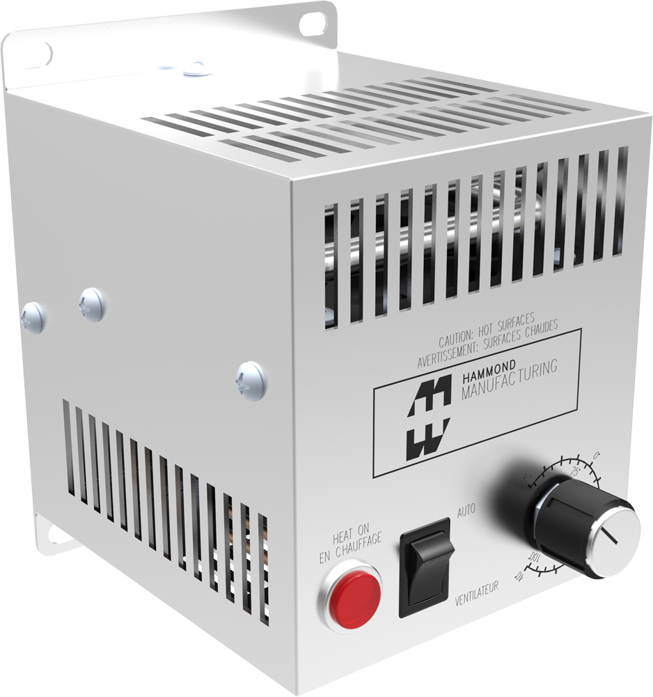 125-1300 W Fan Heater with Thermostat FLH Series