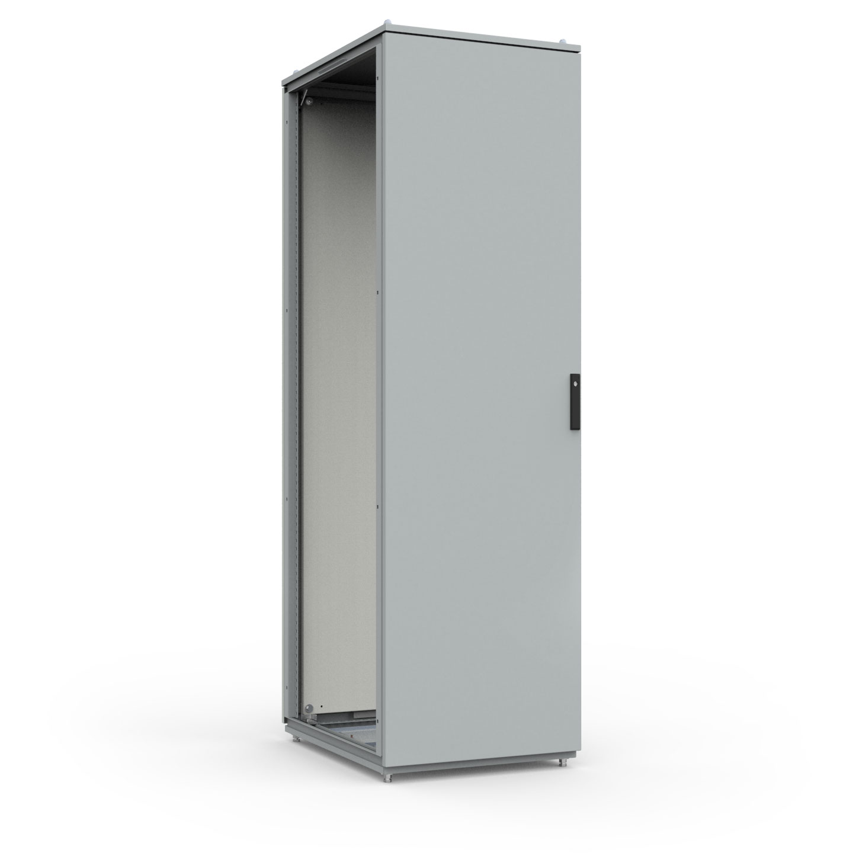 Type 12 Mild Steel Modular Freestanding Enclosure Hinge Door w/ Various Handle Options HME Series