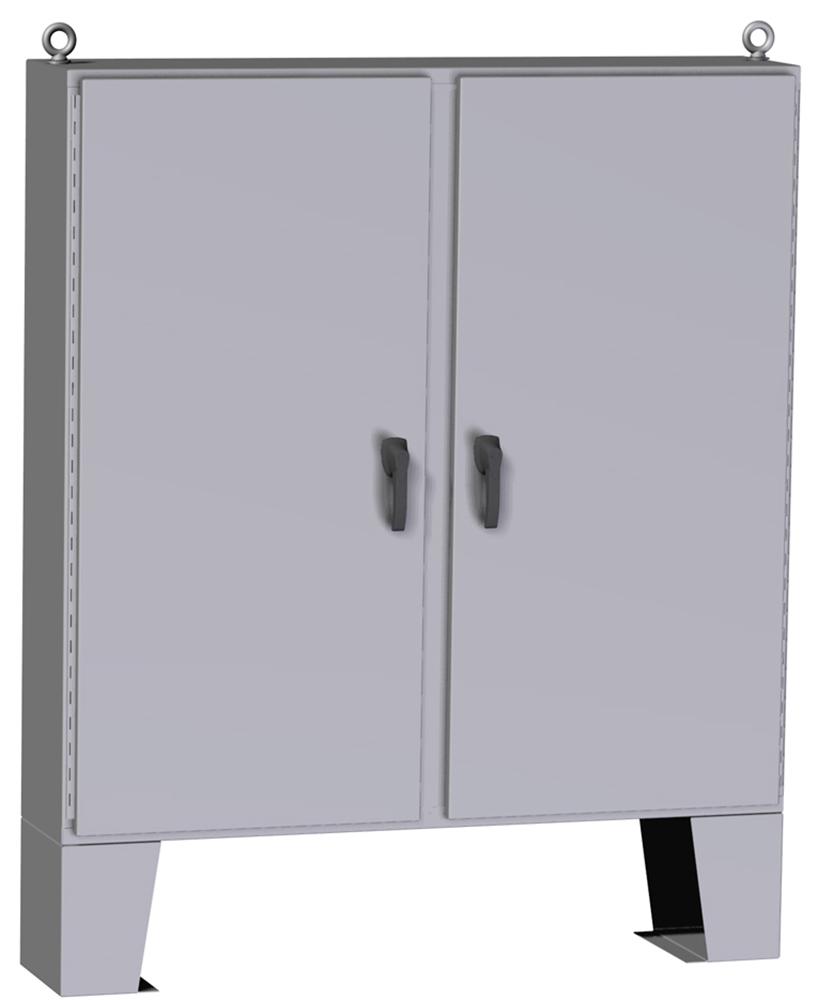 Type 4 Mild Steel Two Door Floormount Enclosure HN4 FM Series