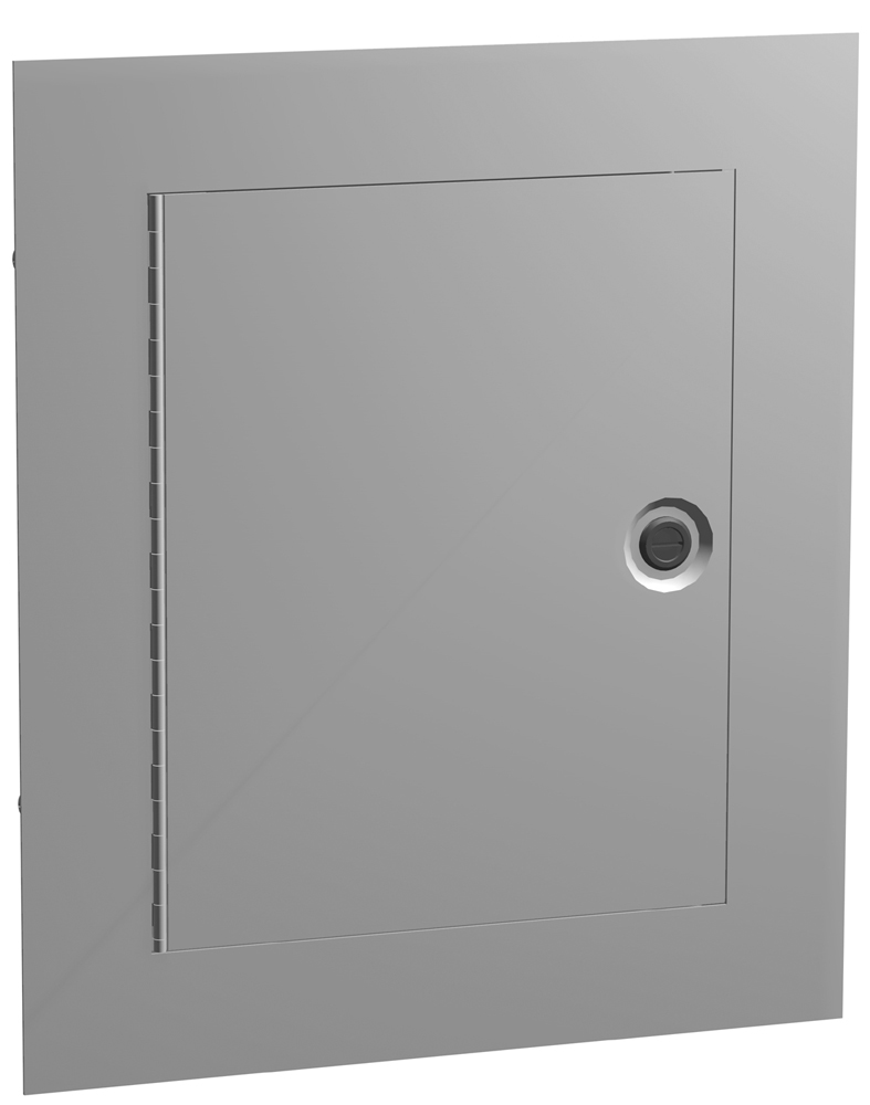 Type 1 Mild Steel 3 Piece Flushmount Enclosure N1W F Series
