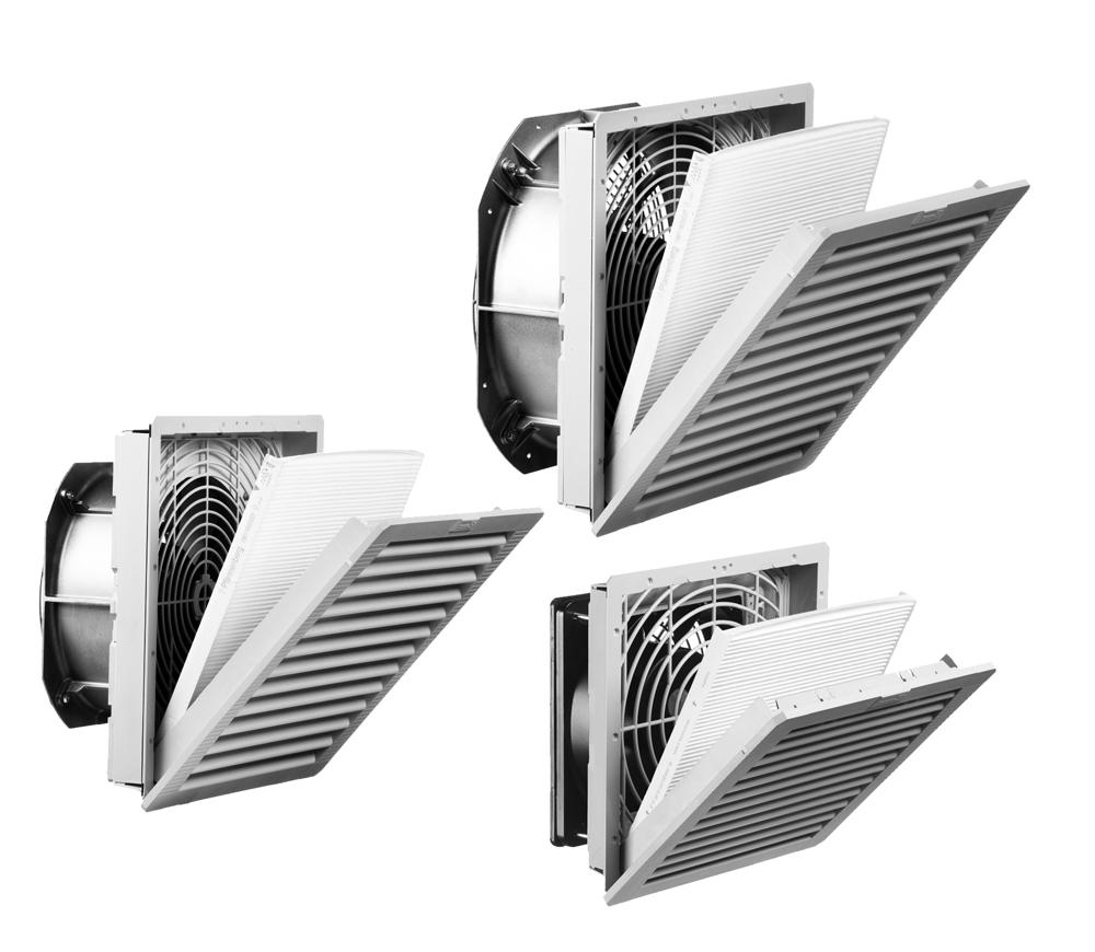 152-427 CFM Slimline Filterfans PF SL GEN4 Series