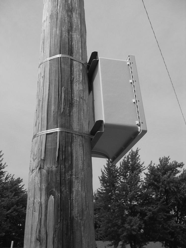 Pole Mounting Kit PJPOLEMNT Series PJ/PJU - Non Metallic Series