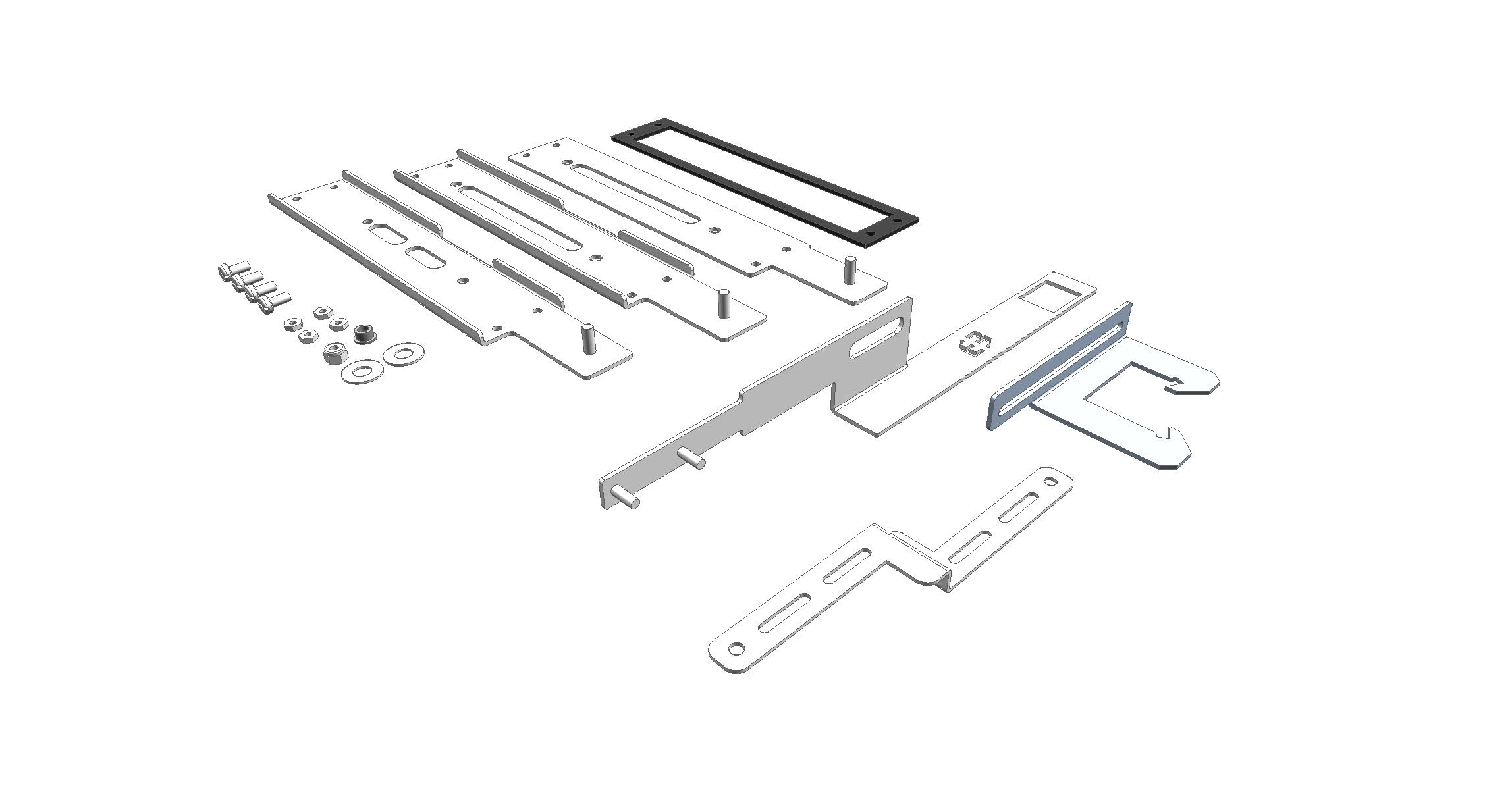 Flange Disconnect Operator Adaptor Kits