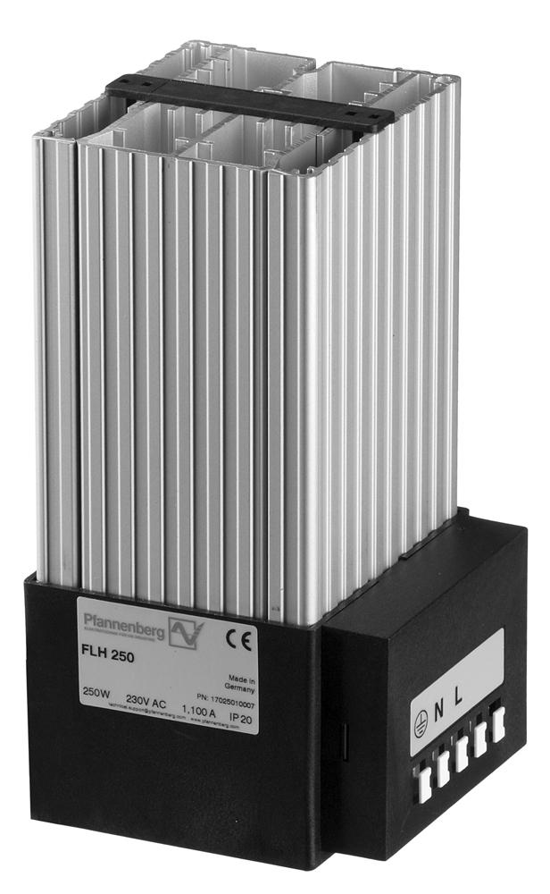 250-400 W Fan Heater SHGL Series