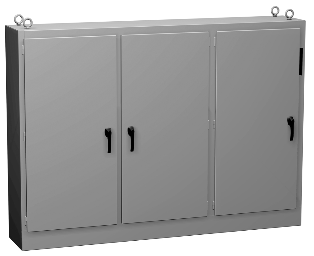 Type 12 Mild Steel Multi-Door Freestanding Disconnect Enclosure UHD Series